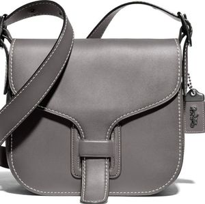 💕SOLD💕 Coach 1941 courier crossbody Heather grey